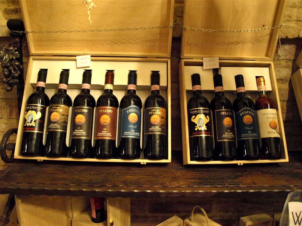 zájezdy do Tálie - tálie - Toskánsko - Montepulciano, zdejší vynikají vína oblasti Chianti mají chuť slunce i nebe